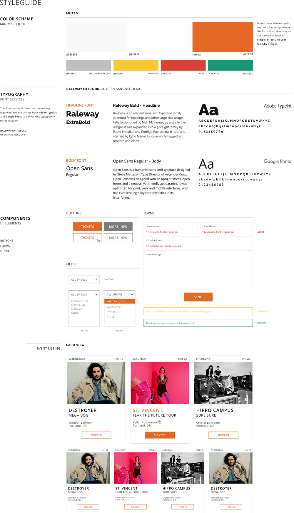 The Build Collective - Client - Case Study - Styleguide