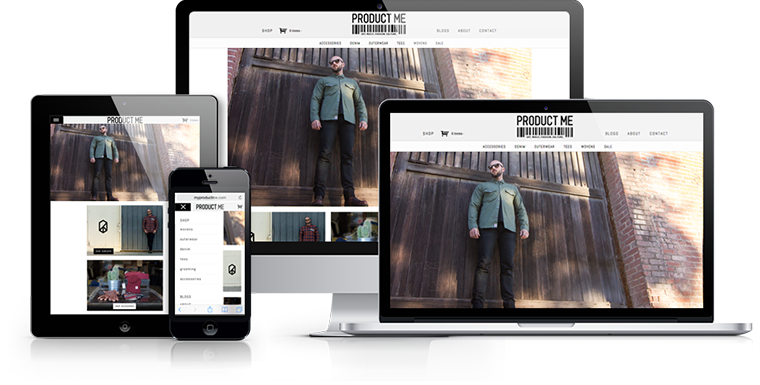 Product Me - Responsive Web Design