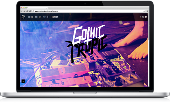 Gothic Tropic - Website