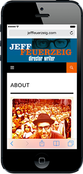 Portfolio - Jeff Feuerzeig - Web Design Mobile