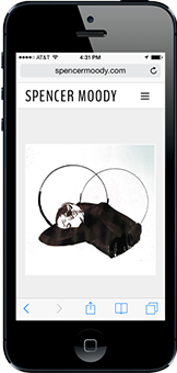 Portfolio - Spencer Moody - Mobile