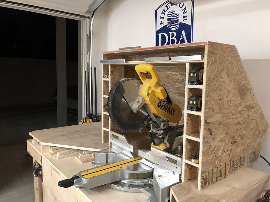 Orange County, CA Woodworking - The Shop Miter Saw Station