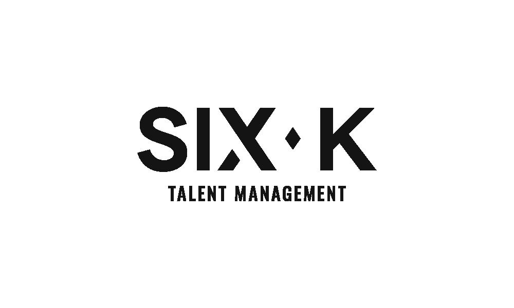 Six K - Logo Tagline - Black